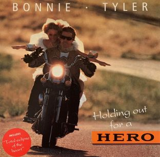 "Bonnie Tyler ‎- Holding Out For A Hero (12"") (VG/VG)"